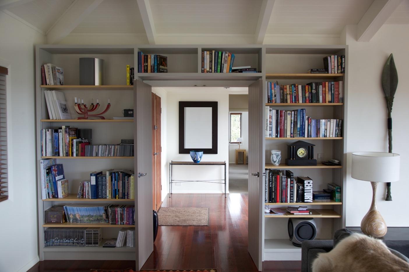 NZ book shelves