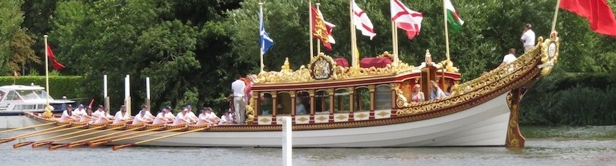 10. Wooden boat show on the Thames